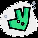 Deliveroo Industry Logo Company Logo Icon