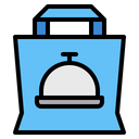 Bag Food Delivery Icon