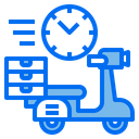 Bike Watch Delivery Icon