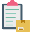 Delivery Checklist Product Delivery Icon