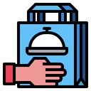 Delivery Bag Food Icon