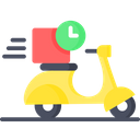 Delivery Time Fast Delivery Fast Delivery Service Icon
