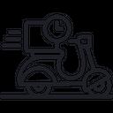 Delivery Time Fast Delivery Fast Delivery Service Icon