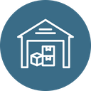 Delivery Transport Warehouse Icon