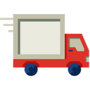 Delivery Truck Loading Cargo Icon