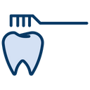 Brush Cleaning Dental Icon