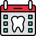 Dentist Appointment Appointment Checkup Date Icon