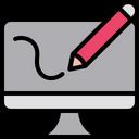 Desktop Design Editor Designing Icon
