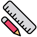 Scale Pencil Scale Pencil Icon
