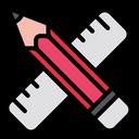 Ruler Design Tool Tool Icon
