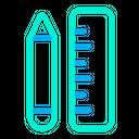 Design Tool Pencil Scale Icon