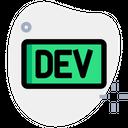 Dev Dot To Technology Logo Social Media Logo Icon