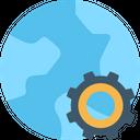 Development Gear Globalization Icon