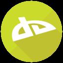 Deviantart Social Media Icon
