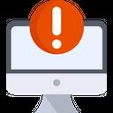 Device In Danger Virus Threat Icon