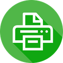 Device Office Print Icon