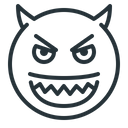 Angry Devil Evil Icon