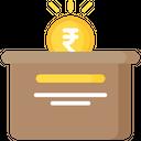 Devotion Donation Box Icon