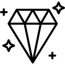 Gem Economy Graph Icon