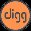 Digg Digg Logo Social Media Icon