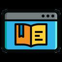 Digital Book Ebook Book Icon