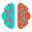 Digital brain Icon