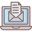 Digital Mailing Email Internet Mail Icon