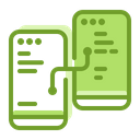 Digital Mobile Connection Icon