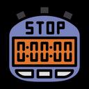 Artboard Digital Stopwatch Stopwatch Icon