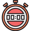 Digital Stopwatch Icon