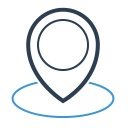 Direction Location Map Icon