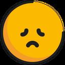 Emoticon Emoji Disappointed Icon