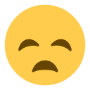 Disappointed Face Sad Icon