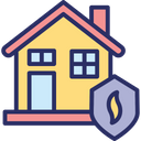 Disaster Safety Fire Insurance Fire Security Icon