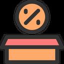 Discount Price Label Icon