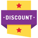 Discount badge Icon