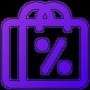 Discount Shopping Icon