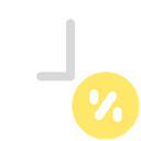 Discount Time Deadline Discount Icon