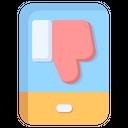 Dislike Thumb Like Icon