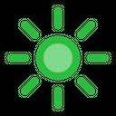 Display Brightness Monitor Icon