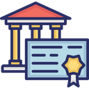Divorce Certificate Final Court Order Final Divorce Decree Icon