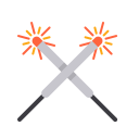 Diwali Fire Crackers Icon