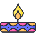 A Diwali Lamp Diya Icon