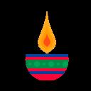 Diya Lamp Diwali Icon