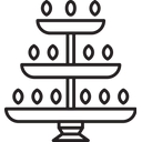 Deep Stand Deepavali Greeting Icon
