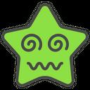 Dizzy Confused Emoticon Icon
