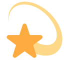Dizzy Star Shooting Icon