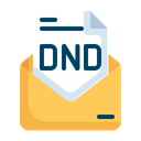DND Mail Icon