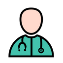 Doctor Stethoscope Clinic Icon