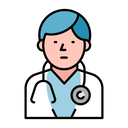 Doctor Stethoscope Health Icon